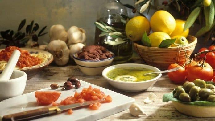 para que sirve la dieta mediterranea menu
