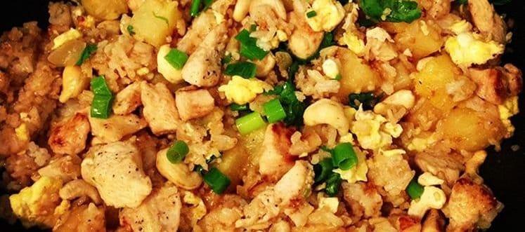 Dieta arroz pollo y pinat