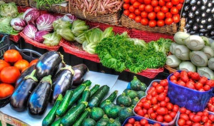 verduras permitidas en dieta astringente